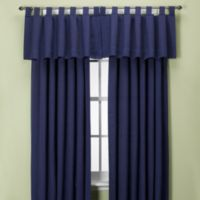 Union Square 108-Inch Tab Top Window Curtain Panel in Indigo