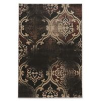 Linon Home Decor Jewel Vintage K. Arthur RT 8' x 10'4 Area Rug in Black