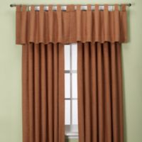 Union Square 132-Inch Tab Top Window Curtain Panel in Cinnamon