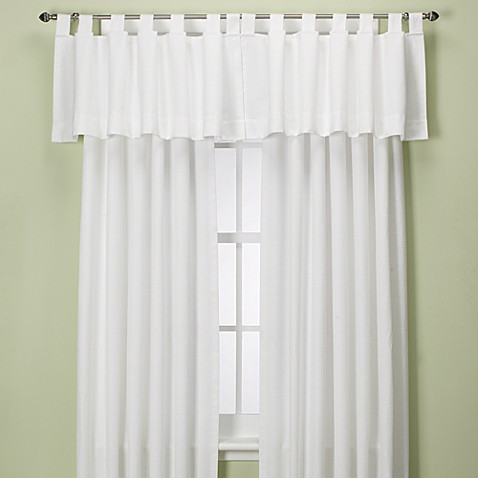buy union square 108 inch tab top window curtain panel in white from bed bath beyond. Black Bedroom Furniture Sets. Home Design Ideas