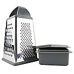 Elements by Tovolo® Box Grater with Storage Container