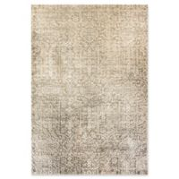 Dynamic Rugs Herndon Damask 7'10 x 10'10 Area Rug in Grey