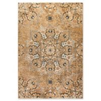 Dynamic Rugs Evolution Medallion 2' x 3'3 Accent Rug in Tan