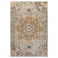 Dynamic Rugs Evolution Medallion 3'11 x 5'7 Area Rug in Light Grey