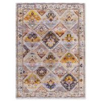 Dynamic Rugs Signature Tabriz 2' x 3'11 Accent Rug in Black/Multi