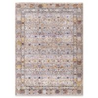 Dynamic Rugs Signature Ahvaz 3'11 x 5'7 Area Rug in Blue/Multi