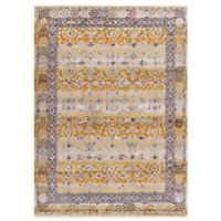 Dynamic Rugs Signature Ahvaz 5'3 x 7'7 Area Rug in Tan/Multi