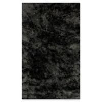Dynamic Rugs Paradise 3' x 5' Lustrous Shag Accent Rug in Soft Blue