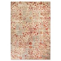 Dynamic Rugs Quartz Ashburn 2' x 3'11 Accent Rug in Ivory/Red