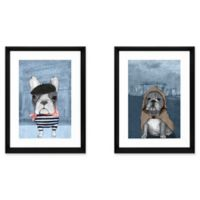 Dog Lover 2-Piece Framed Wall Art