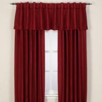 Reina Rod Pocket/Back Tab 144-Inch Window Curtain Panel in Merlot