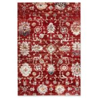 Dynamic Rugs Evolution Agra 3'11 x 5'7 Area Rug in Rust