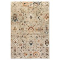 Dynamic Rugs Evolution Agra 6'7 x 9'6 Area Rug in Light Grey