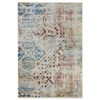 Dynamic Rugs Prism Boden 7'10 x 10'10 Area Rug in Rust/Multi