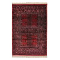 Dynamic Rugs Crown Tehran 2' x 3'5 Accent Rug in Red