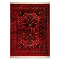 Dynamic Rugs Crown Urmia 3'6 x 5'6 Area Rug in Red