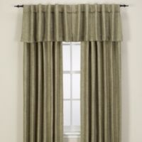 Reina Rod Pocket/Back Tab 120-Inch Window Curtain Panel in Green