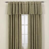 Reina Rod Pocket/Back Tab 132-Inch Window Curtain Panel in Green