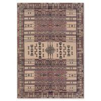 Surya Shadi Global Hand-Woven 8' x 10' Area Rug in Beige/Purple