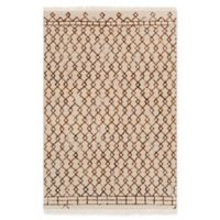 Surya Nettie Global 8' x 10' Area Rug in Khaki/Camel
