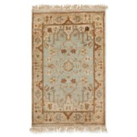 Surya Adana Classic 2' x 3' Accent Rug in Khaki/Light Grey