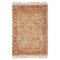 Surya Adana Classic 2' x 3' Accent Rug in Camel/Red
