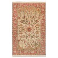 Surya Adana Classic 5'6 x 8'6 Area Rug in Camel/Red