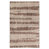 Surya Luminous Modern 5' x 8' Area Rug in Dark Brown/Taupe