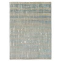 Surya Luminous Modern 8' x 11' Area Rug in Teal/Tan