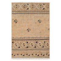 Surya Lenora Global 8' x 10' Area Rug in Camel/Dark Brown