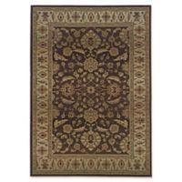 Oriental Weavers Genesis Transitional Floral 9'9 x 12'2 Area Rug in Brown/Beige
