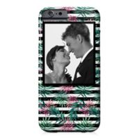 Designs Direct Pink Palm Stripes iPhone® 6/6S Case