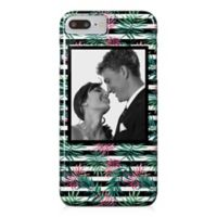 Designs Direct Pink Palm Stripes iPhone® 8 Plus Case