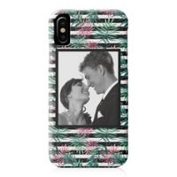Designs Direct Pink Palm Stripes iPhone® X Case