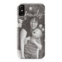 Designs Direct Family Script iPhone® X Case