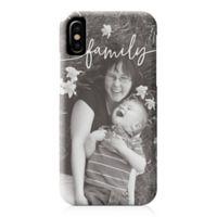 Designs Direct Family Script iPhone® X Case