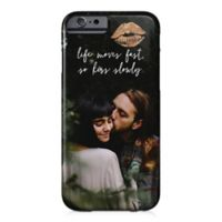 """Designs Direct """"Life Moves Fast So Kiss Slowly"""" iPhone® 6/6S Case"""