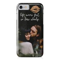 """Designs Direct """"Life Moves Fast So Kiss Slowly"""" iPhone® 7 Case"""