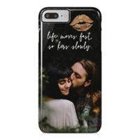 """Designs Direct """"Life Moves Fast So Kiss Slowly"""" iPhone® 8 Plus Case"""