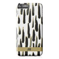 Designs Direct Black and Gold Paint Strokes iPhone® 6 Plus Case