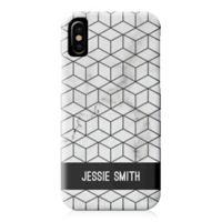 Designs Direct Black Box Marble iPhone® X Case