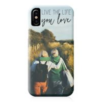 "Designs Direct ""Live the Life You Love"" iPhone® X Case"