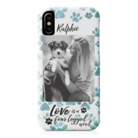"Designs Direct ""Love is a Four Legged Word"" iPhone® X Case"