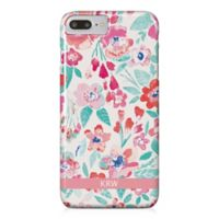 Designs Direct Coral Patchy Flowers iPhone® 7 Plus Case