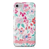 Designs Direct Coral Patchy Flowers iPhone® 8 Case