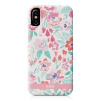 Designs Direct Coral Patchy Flowers iPhone® X Case