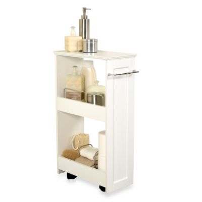 Bed Bath And Beyond Bathroom Storage. Slim Line Organizer Storage Unit