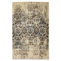 Kaleen Tiziano Tapestry 1'10 x 3' Accent Rug in Chocolate