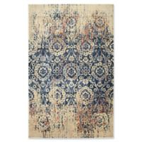Kaleen Tiziano Tapestry 5'3 x 7'3 Area Rug in Blue