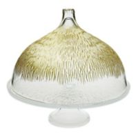 Classic Touch Trophy Footed Cake Stand with Dome